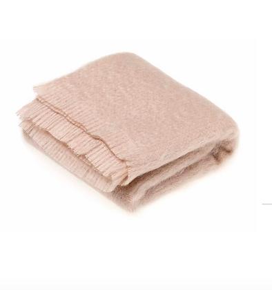 Mohair blanket-Vanilla