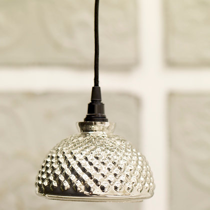 Silver bobble light