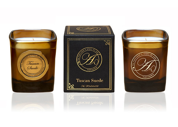 The Perfumer's Story Tuscan Suede- Scented Candle