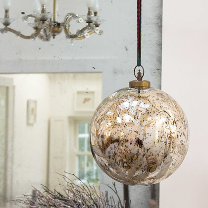 Giant Antiqued Bauble