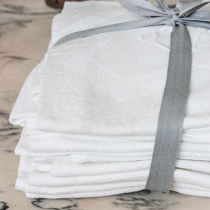 Bundle of 12 Vintage Embroidered napkins