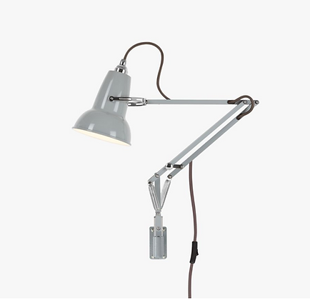 Original 1227 Mini Lamp with Wall Bracket Dove Grey