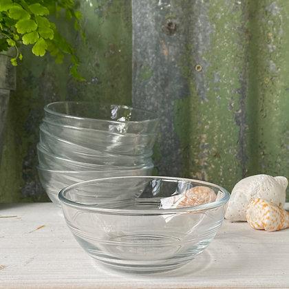 Duralex Lys Glass Bowls Set of 12 (10.5cm)