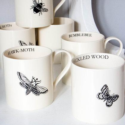 Modern Botanicals Insect Mugs