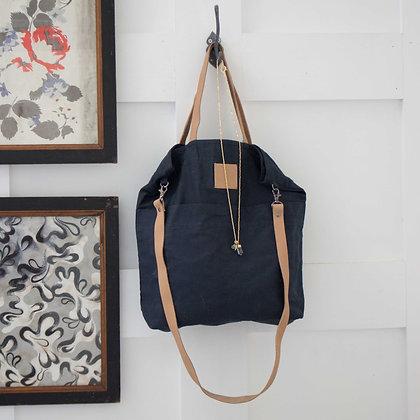 Navy Canvas Bag