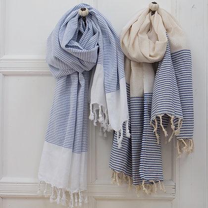 Nautical Stripe Hammam Towels