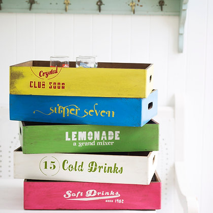 Wooden Soda Boxes