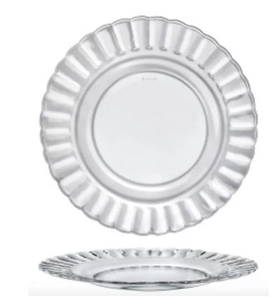 Paris Glass Desert Plates - Set of 6