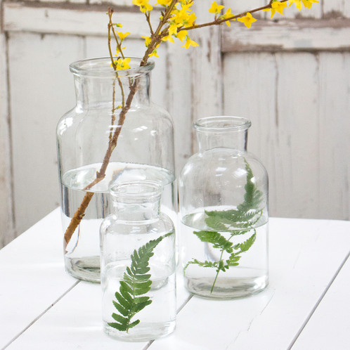 Glass Jar Vases Online Homeware Boutique Pale And Interesting