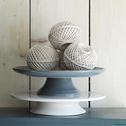Grey Ceramic Cake Stand