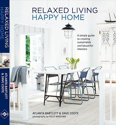 Relaxed Living Happy Home- signed copy