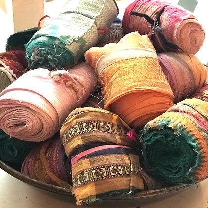 Vintage Sari Ribbons-5m