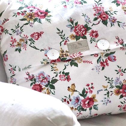 Vintage Provençal Sprig Cushion Cover