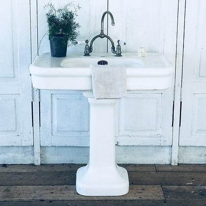Antique White Sink C.1910