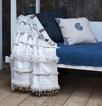Antique Moroccan Wedding Blanket - Small
