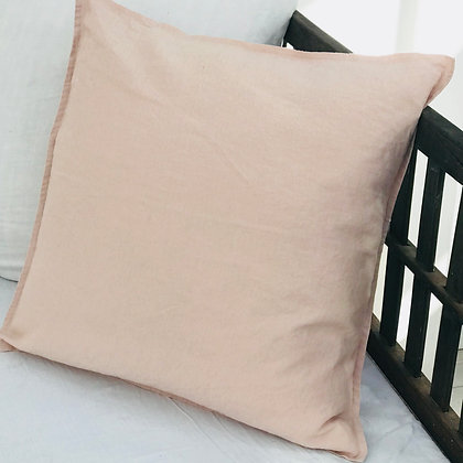 Rosa Linen Cushion Cover Stone Washed