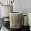 Thumbnail: Large Beige Clay and Glaze Julian Flowerpot Holder