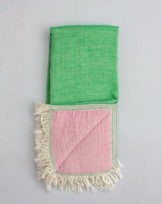 Samos Hammam Towel, Leaf And Rose