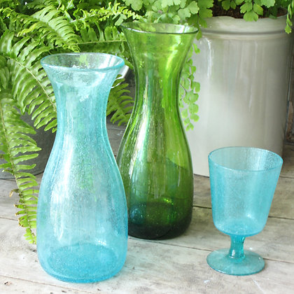 Handmade Glass Carafe