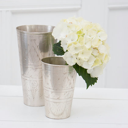 Silver Lassi Cups