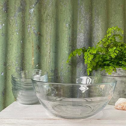 Duralex Lys Glass Salad Bowl Set of 2