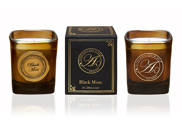 The Perfumer's Story Black Moss - Scented Candle