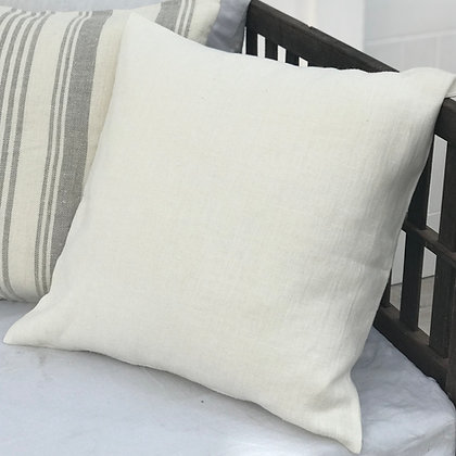 Cream Linen Cushion Cover Lara