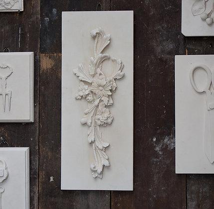 Plastercast - Tall Floral Scroll