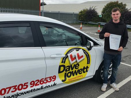 Congratulations on passing your test Ross!