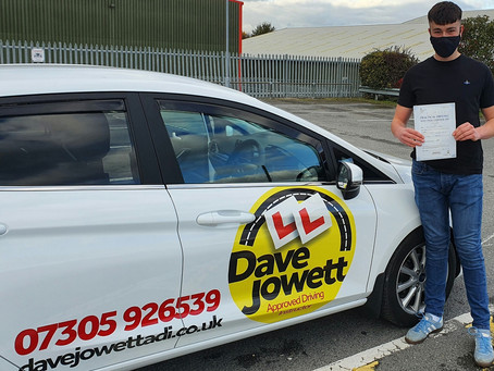 Congratulations Max on your first time driving test pass
