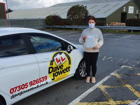 Congratulations Alex on passing your test!!