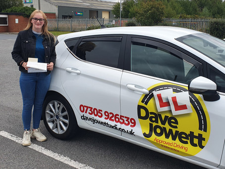 Congratulations Chloey on your pass