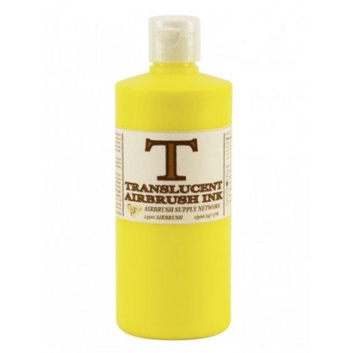 Airbrush Paint Translucent (T) Yellow (Green) 500ML