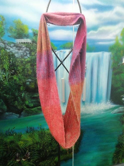 Infinity scarf 100% alpaca