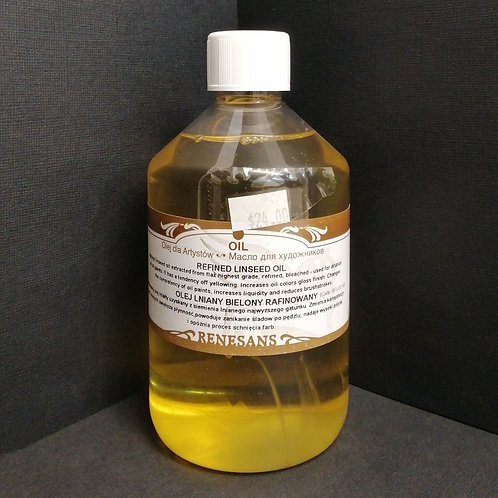 Renesans refined linseed oil