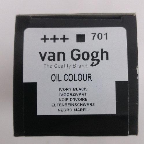 Royal talens van Gogh oil colour ivory black 200 mils