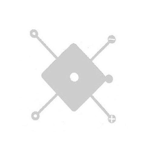 RIVETS & SCREWS STENCIL MEDIUM 10mm