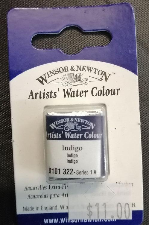 Winsor and Newton half pan Indigo watercolour series 1 a
