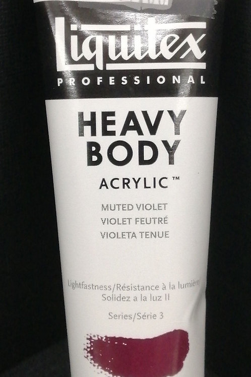 Liquitex professional heavy body acrylic muted violet 59ml