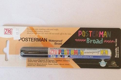 Zig Posterman black 6mm