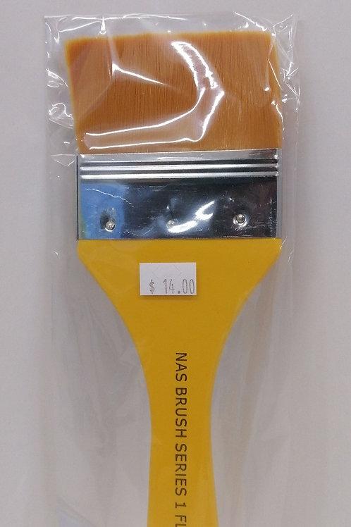 Nas brush series 1 flat, 3 inch