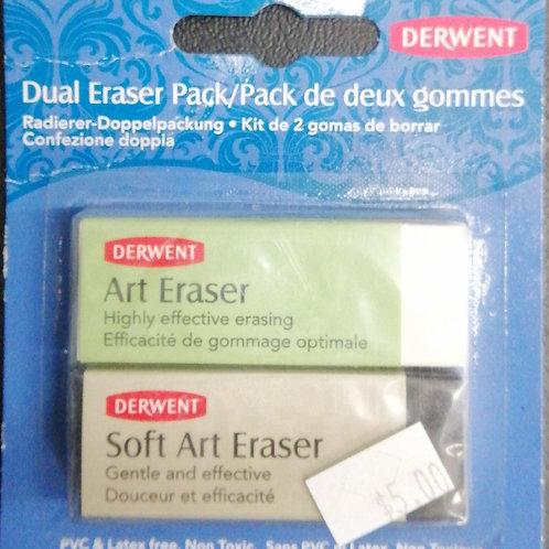 Derwent dual eraser pack