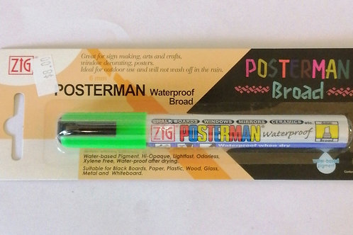 Zig Posterman FL green 6mm