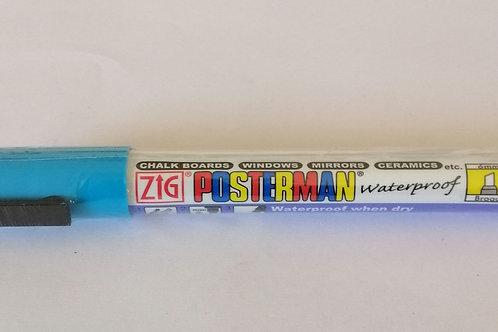 Zig Posterman LT Blue 6mm
