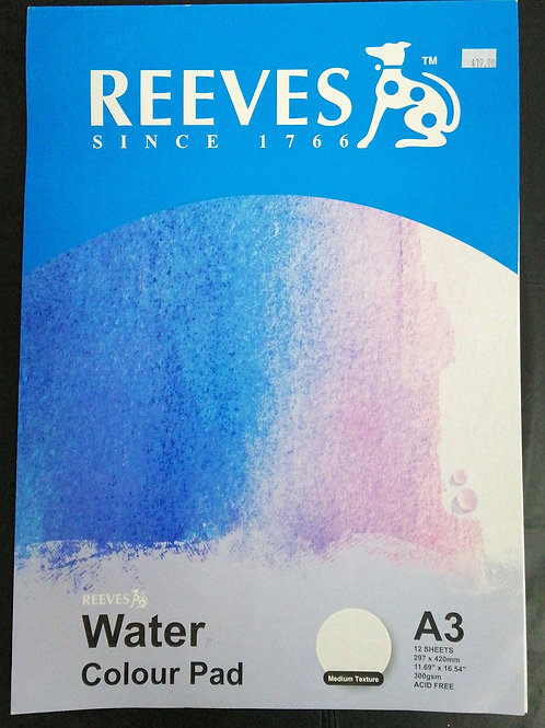 Reeves Watercolour pad A3
