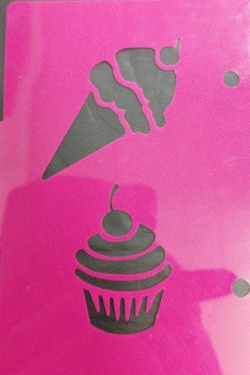 Cupcake / ice cream