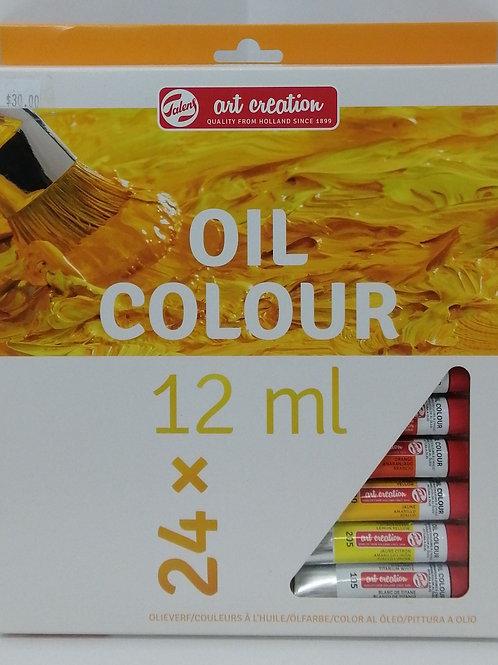 Royal talens art creation oil colour 24 x 12 ml