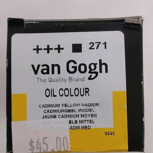 Royal talens van Gogh oil  cadmium yellow medium 200 mils
