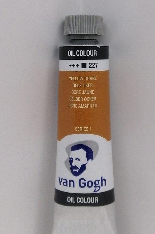 Royal talens Van Gogh oil colour series 1 yellow ocre 40ml