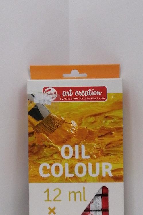 Royal talens art creation oil colour 12 x 12 mil